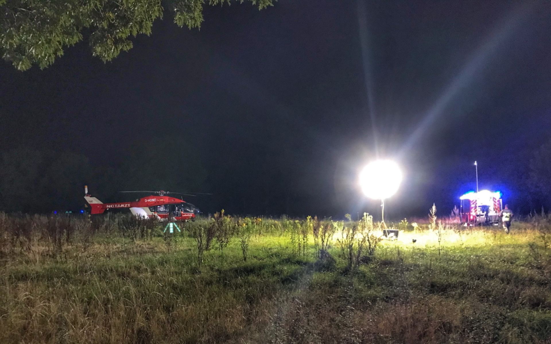 Der in Rendsburg stationierte Hubschrauber der DRF Luftrettung ist 24 Stunden einsatzbereit.