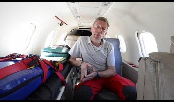 Embedded thumbnail for So ist unser Ambulanzflugzeug ausgestattet
