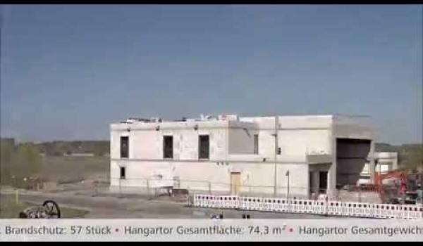 Embedded thumbnail for Bau der Luftrettungsstation Angermünde im Zeitraffer