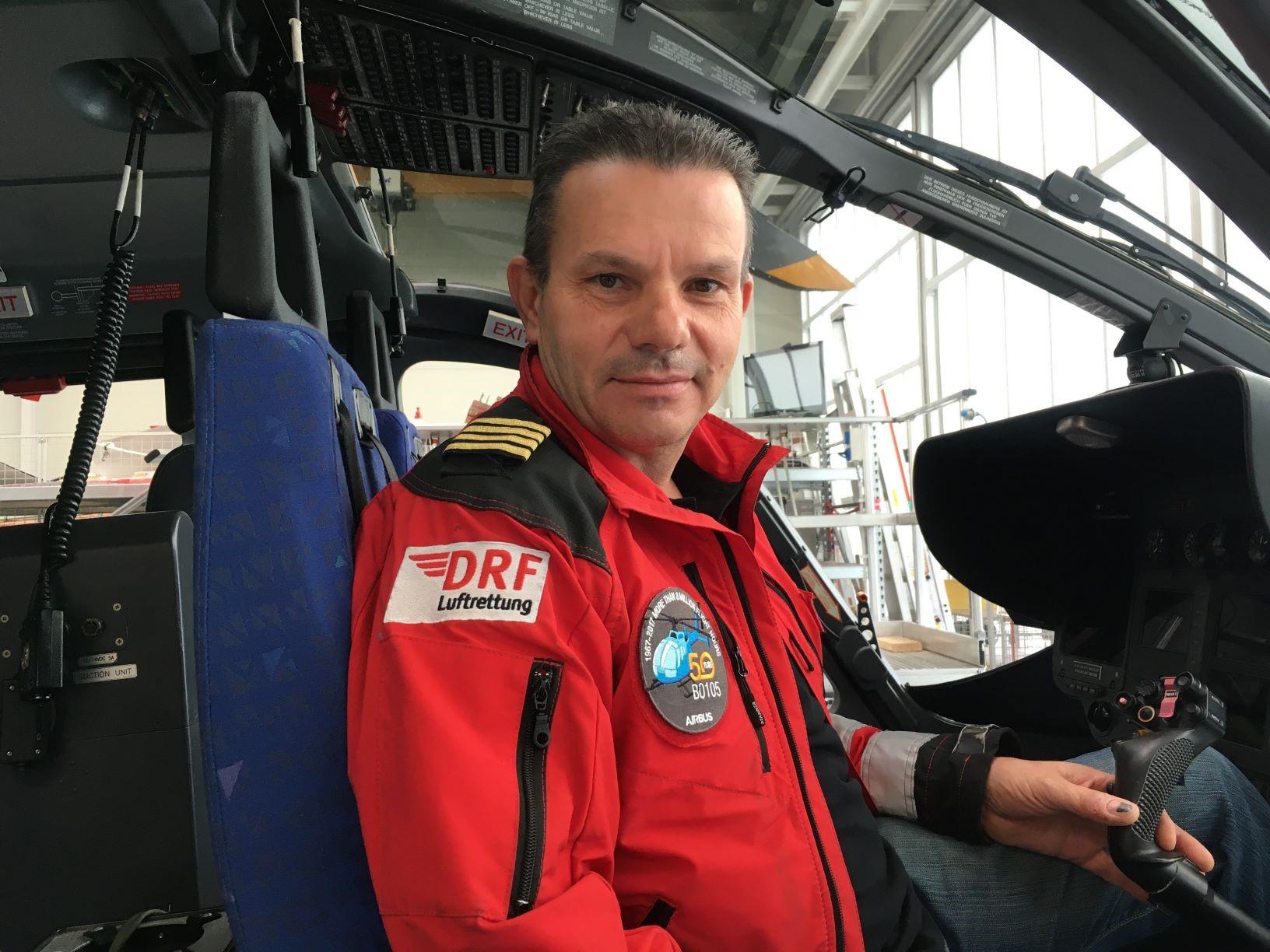 Werner Rödel, der erste Werkstattpilot der Technik.