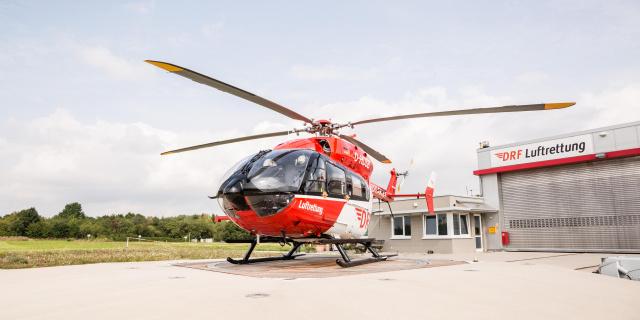 Seit 2017 kommt eine EC 145 als Christoph 51 zum Einsatz.