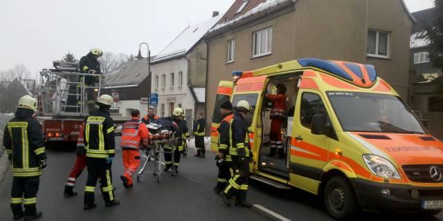 Alle Rettungskräfte arbeiteten Hand in Hand.
